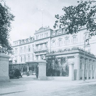 Historical entrance 1928