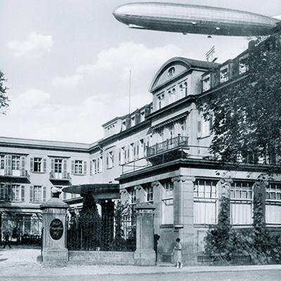 Historischer Hoteleingang 1930
