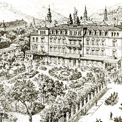 Historische Hotelanlage 1906