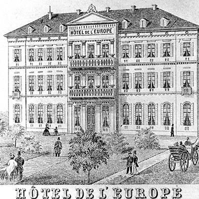 1865 Hotel de l'Eurôpe