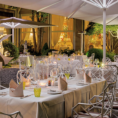 Terrasse Sommerrestaurant