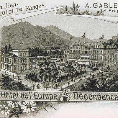 1906 - Hotel garden